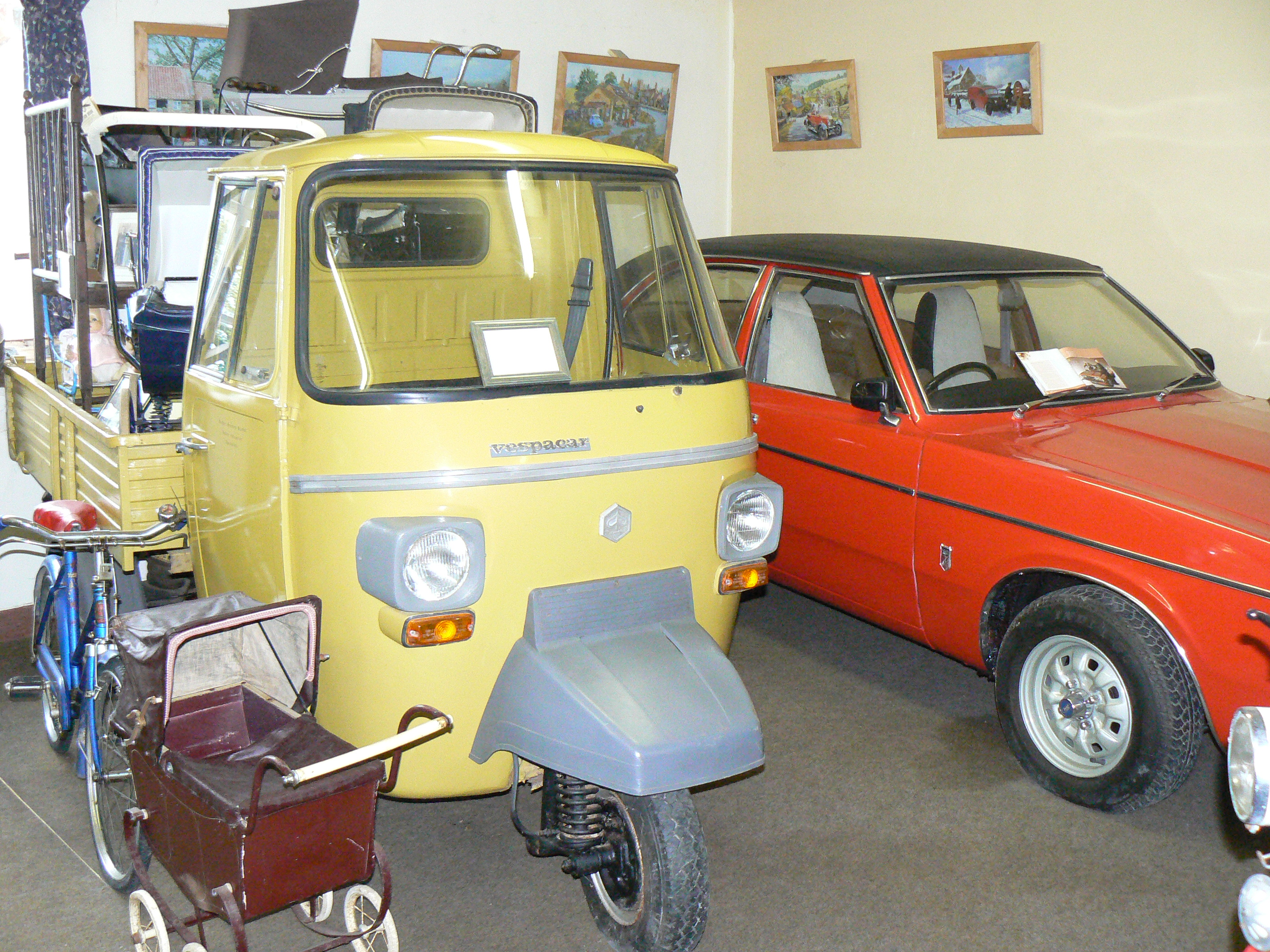 Iceni Minors Drive It Day 2015 museum