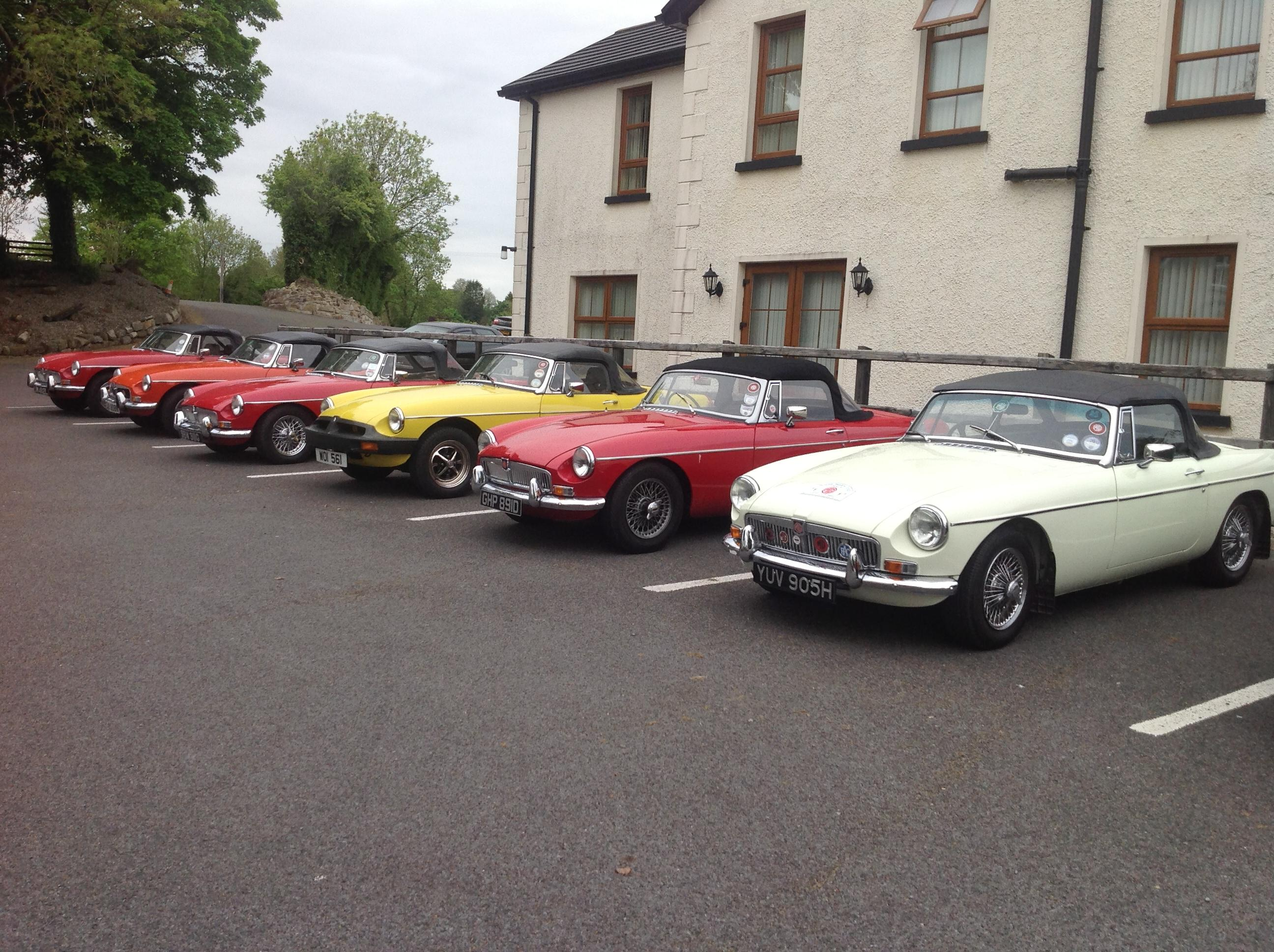 Members Cars on the Omagh Run 2014 1 db